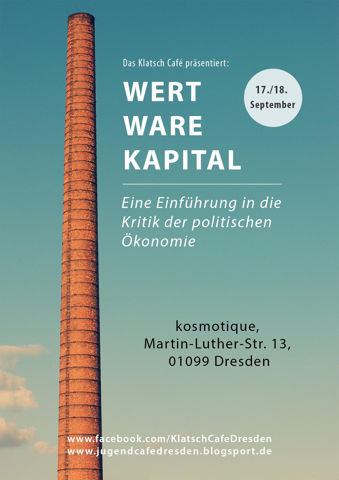 Wert, Ware, Kapital